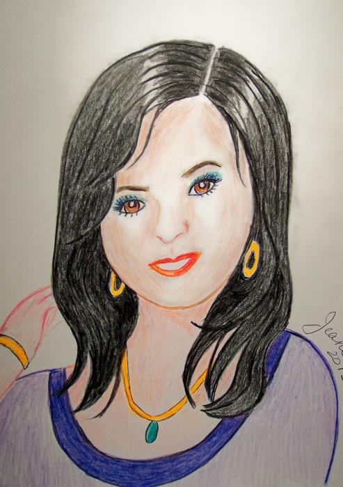 Selena Gomez por Jeanette
